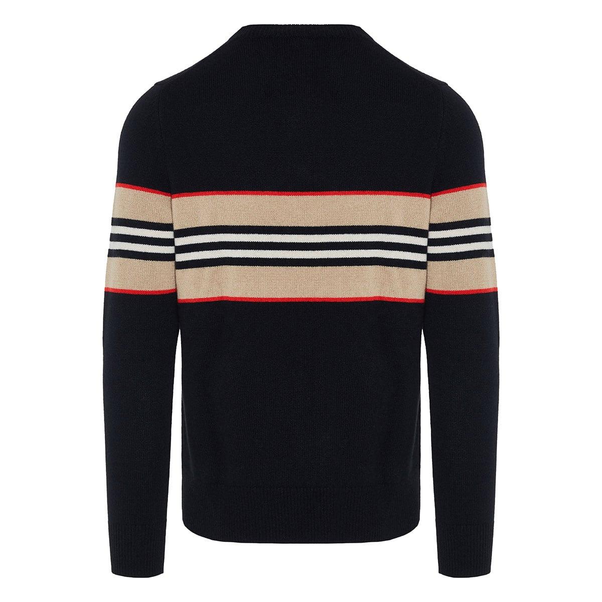 Icon Stripe cashmere sweater