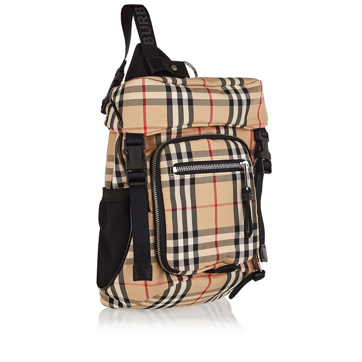 Vintage Check Leo mini backpack