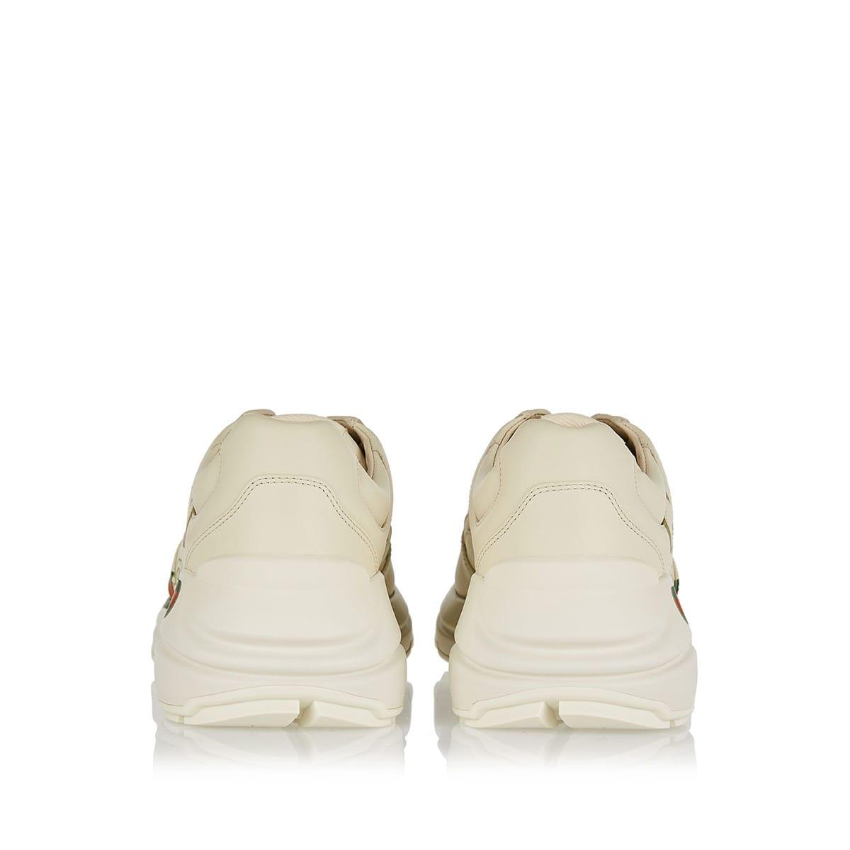 Rhyton logo leather sneakers