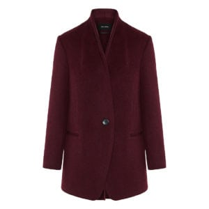 Felice oversized wool coat