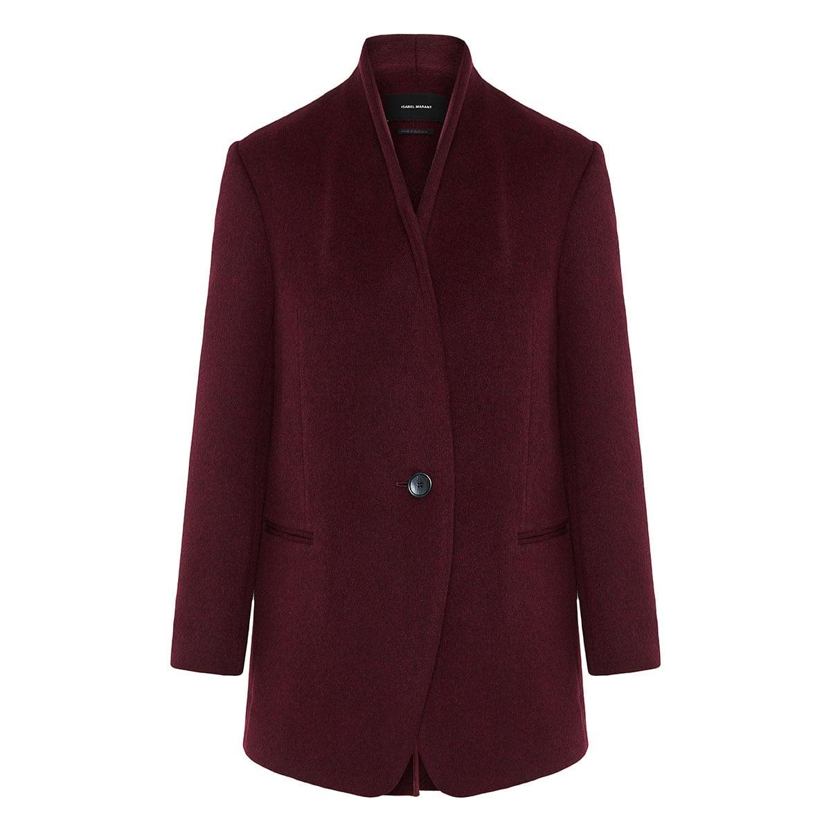 Felice oversized wool coat
