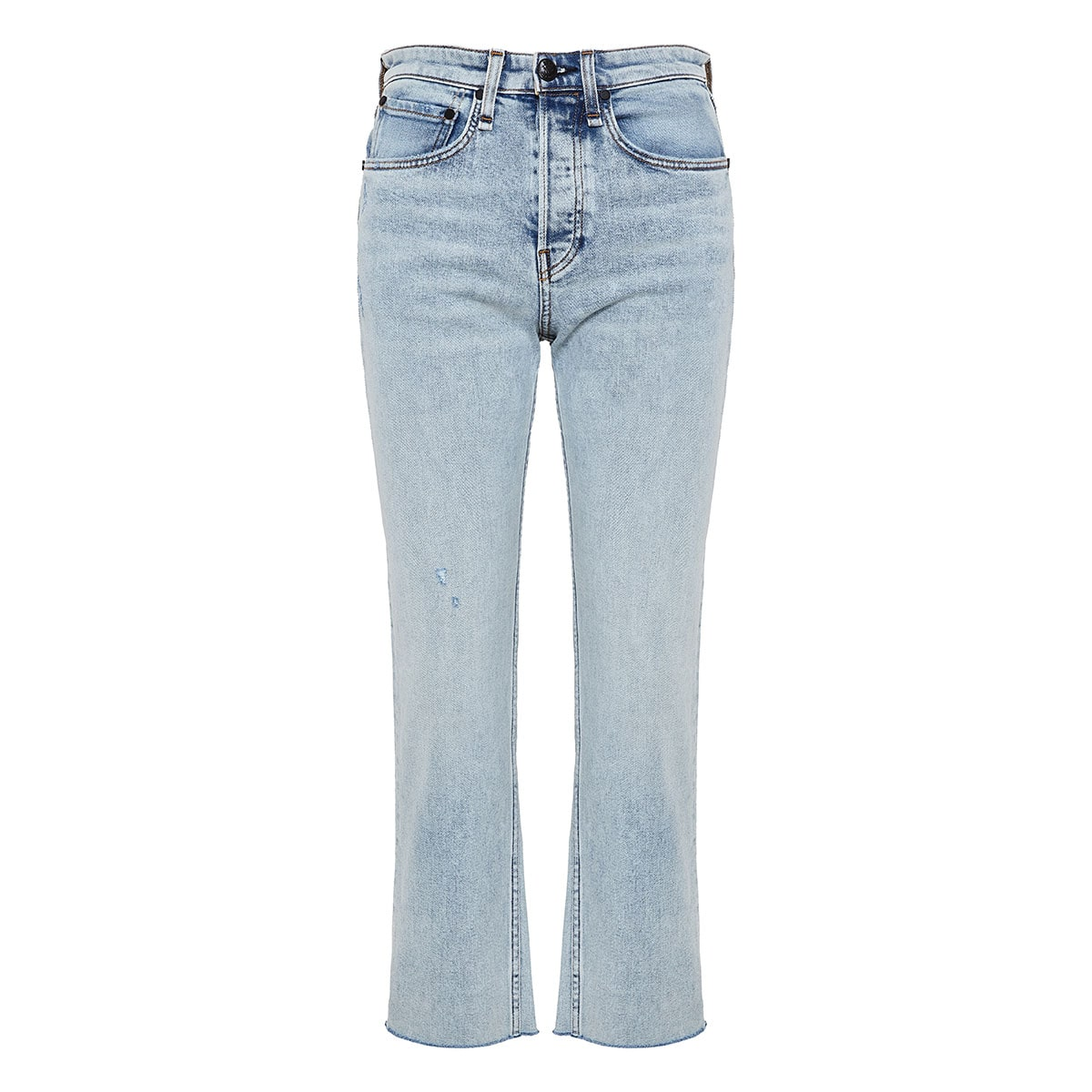 Maya high-waist cropped jeans