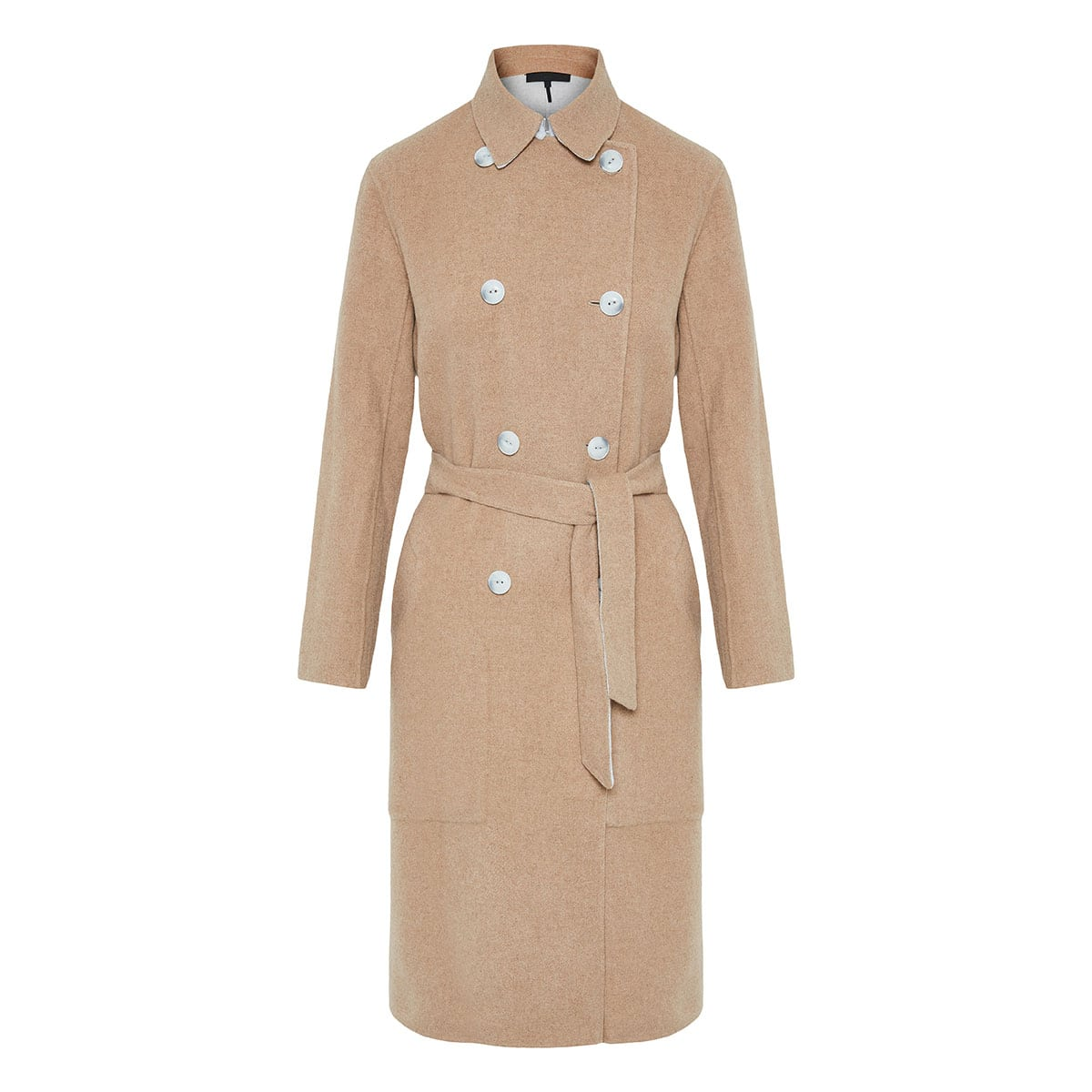 Rach reversible wool coat