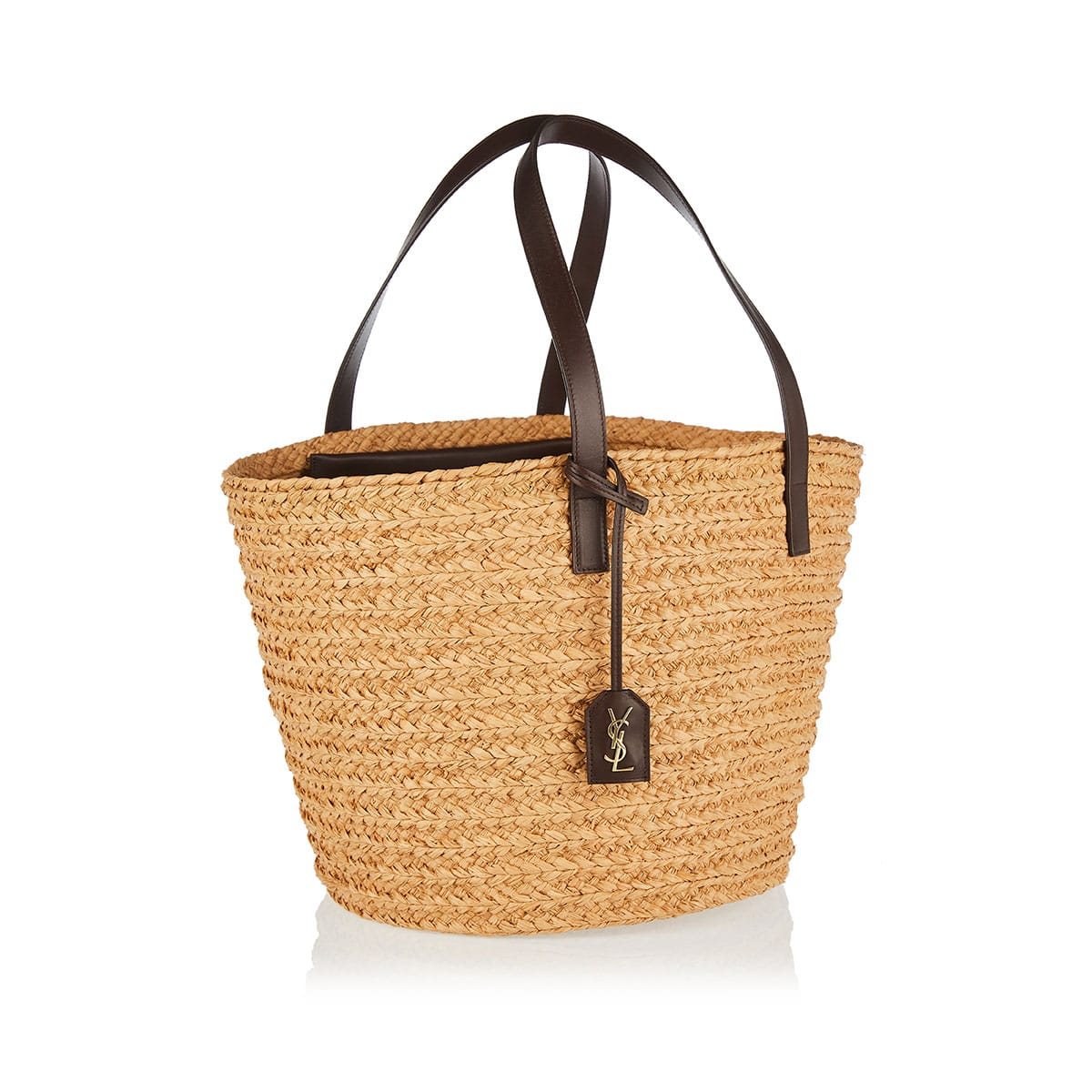 Panier medium raffia bag