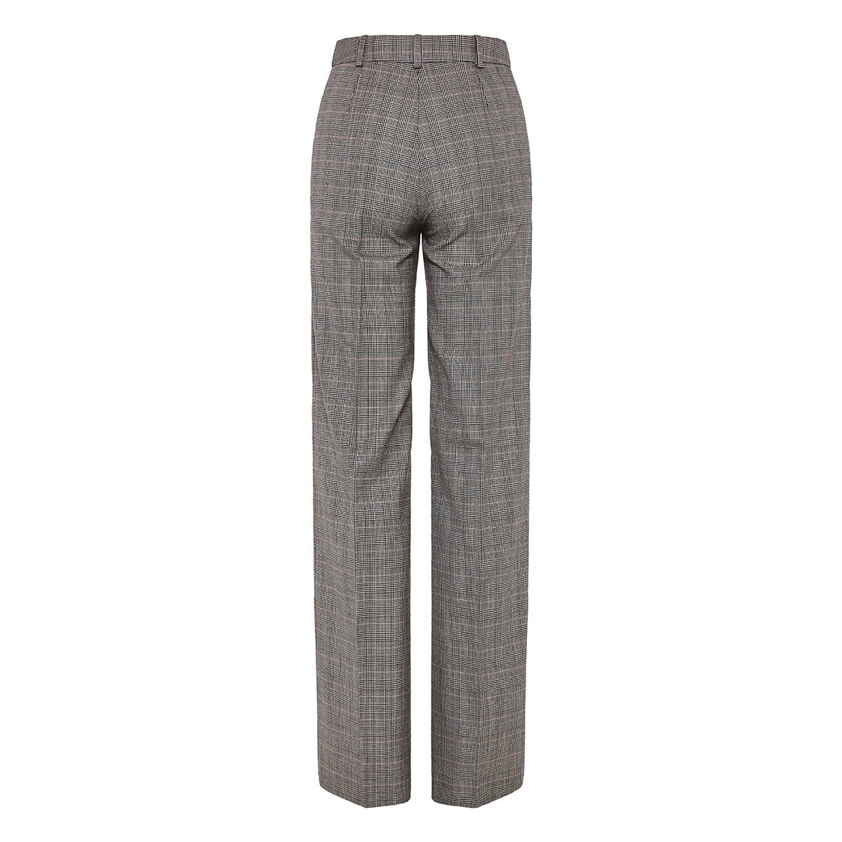 Armidale checked wide-leg trousers