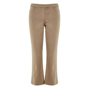 Cotton cropped trousers