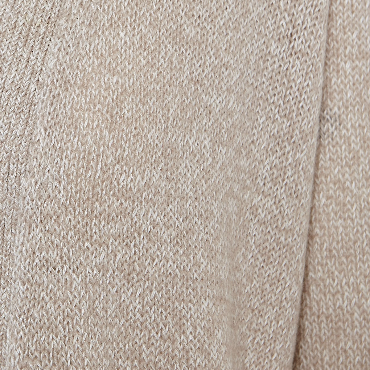 Linen-cashmere long cardigan