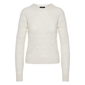 Cashmere textured sweater