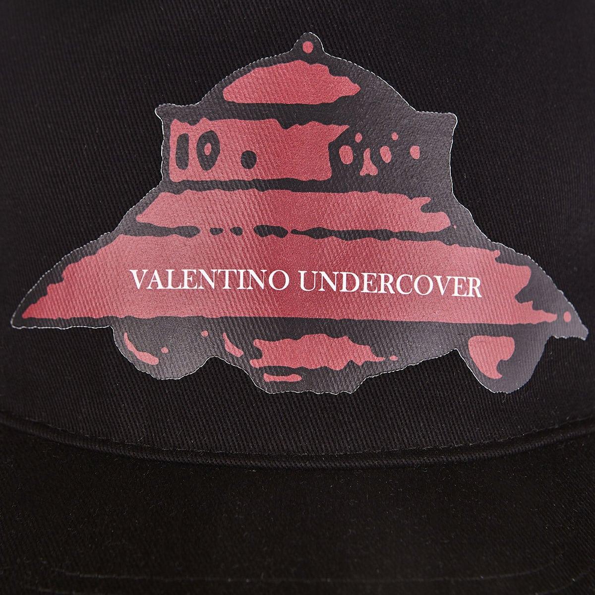 x Undercover printed baseball cap