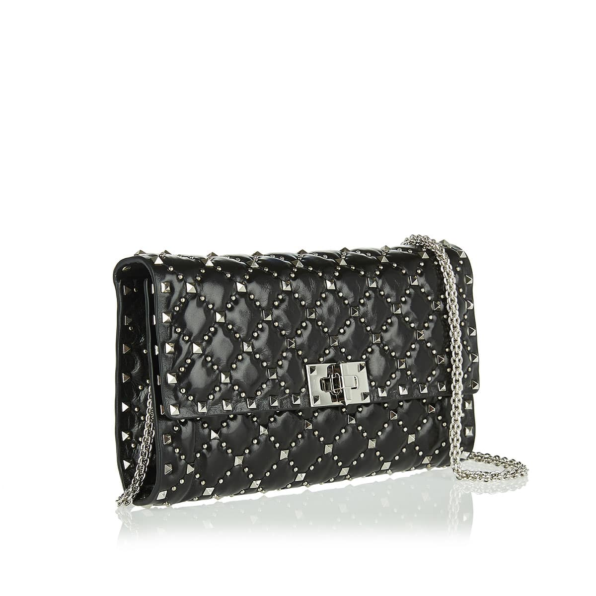 Rockstud Spike.It studded chain bag