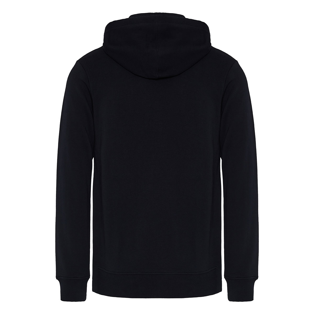 Japanese print cotton hoodie