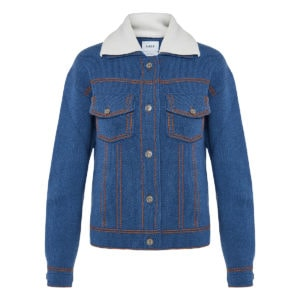 Cashmere-knitted jacket