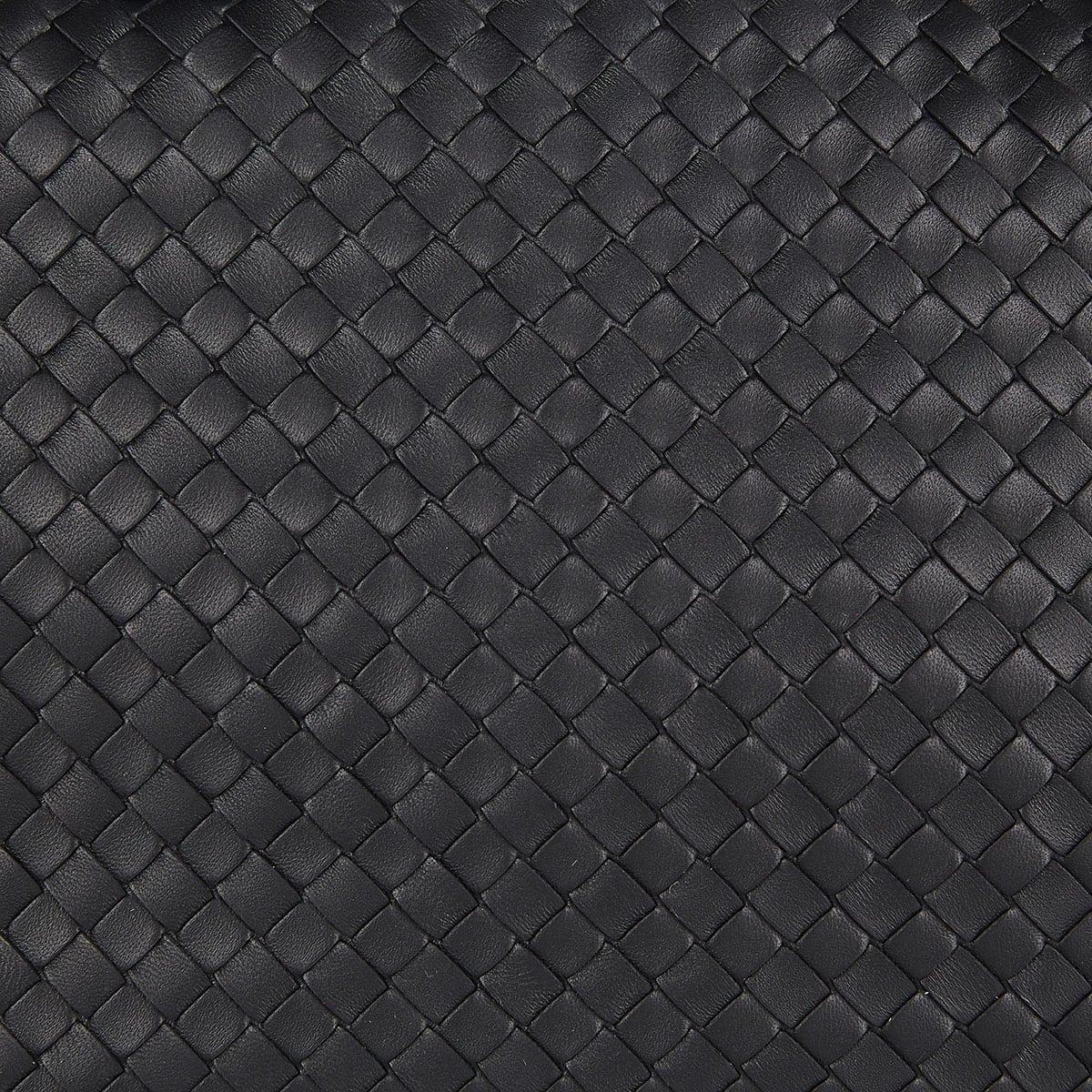 Intrecciato leather tote