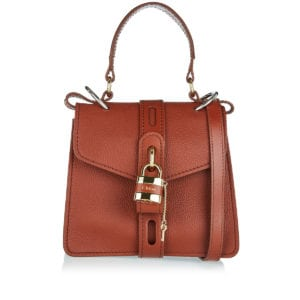 Aby small leather shoulder bag