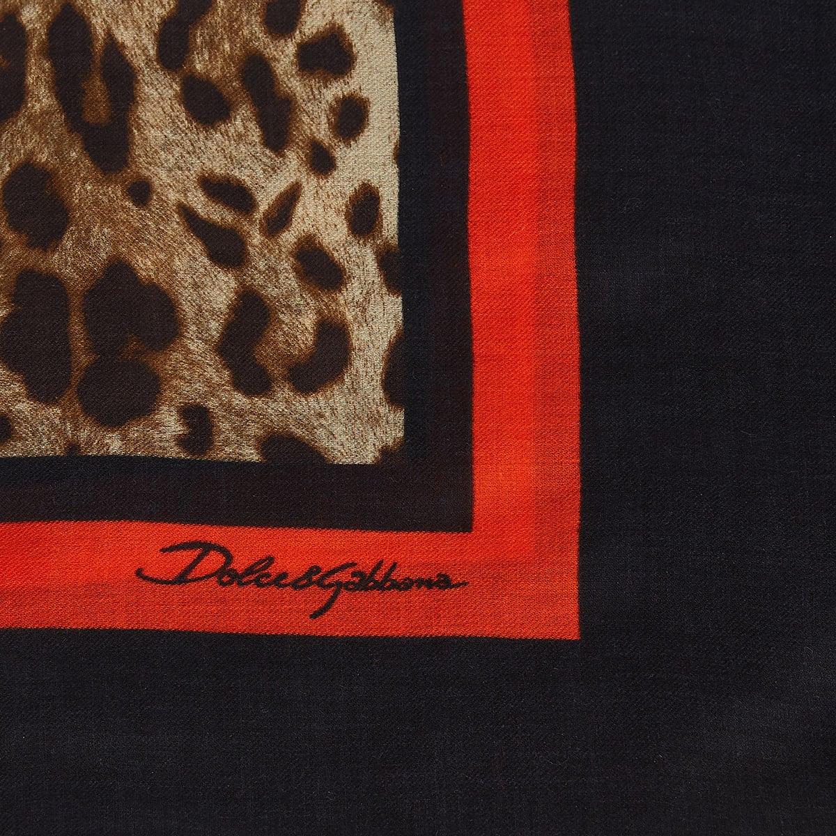 Leopard modal scarf