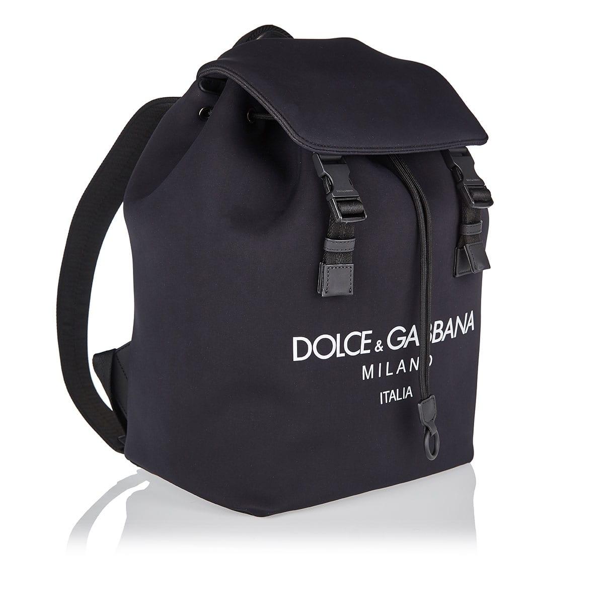Palermo logo neoprene backpack