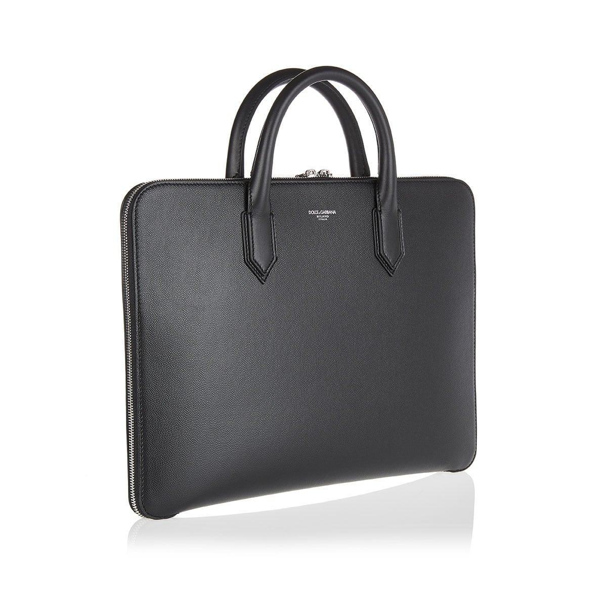 Gotico leather briefcase