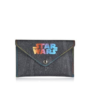 x Star Wars logo envelope clutch