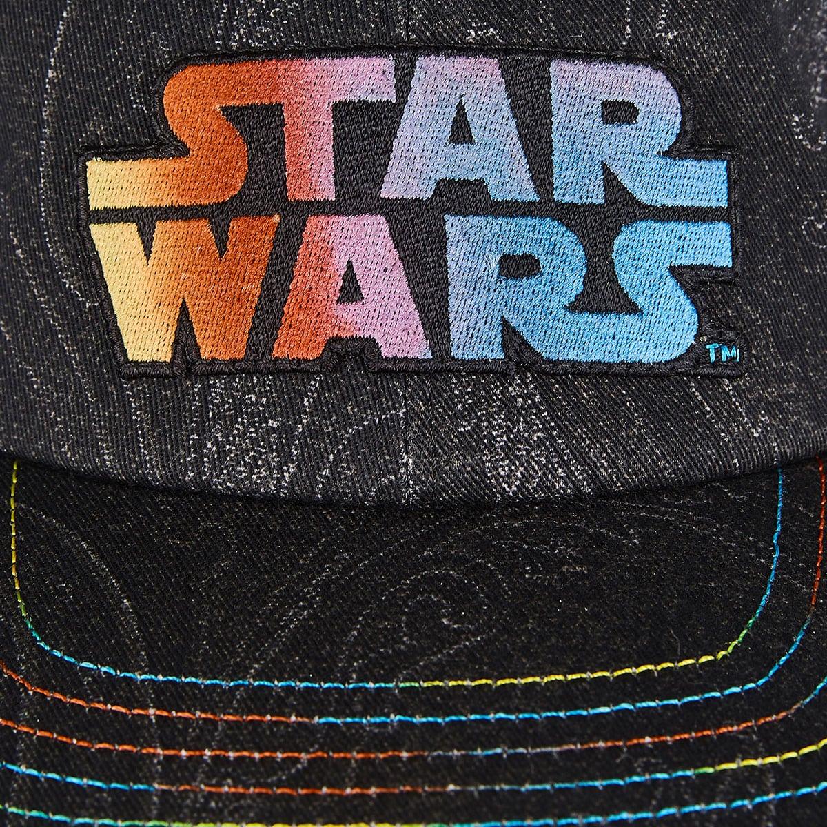 x Star Wars logo baseball cap