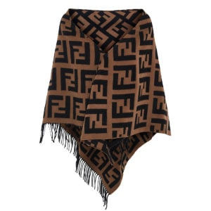 FF cashmere and wool shawl