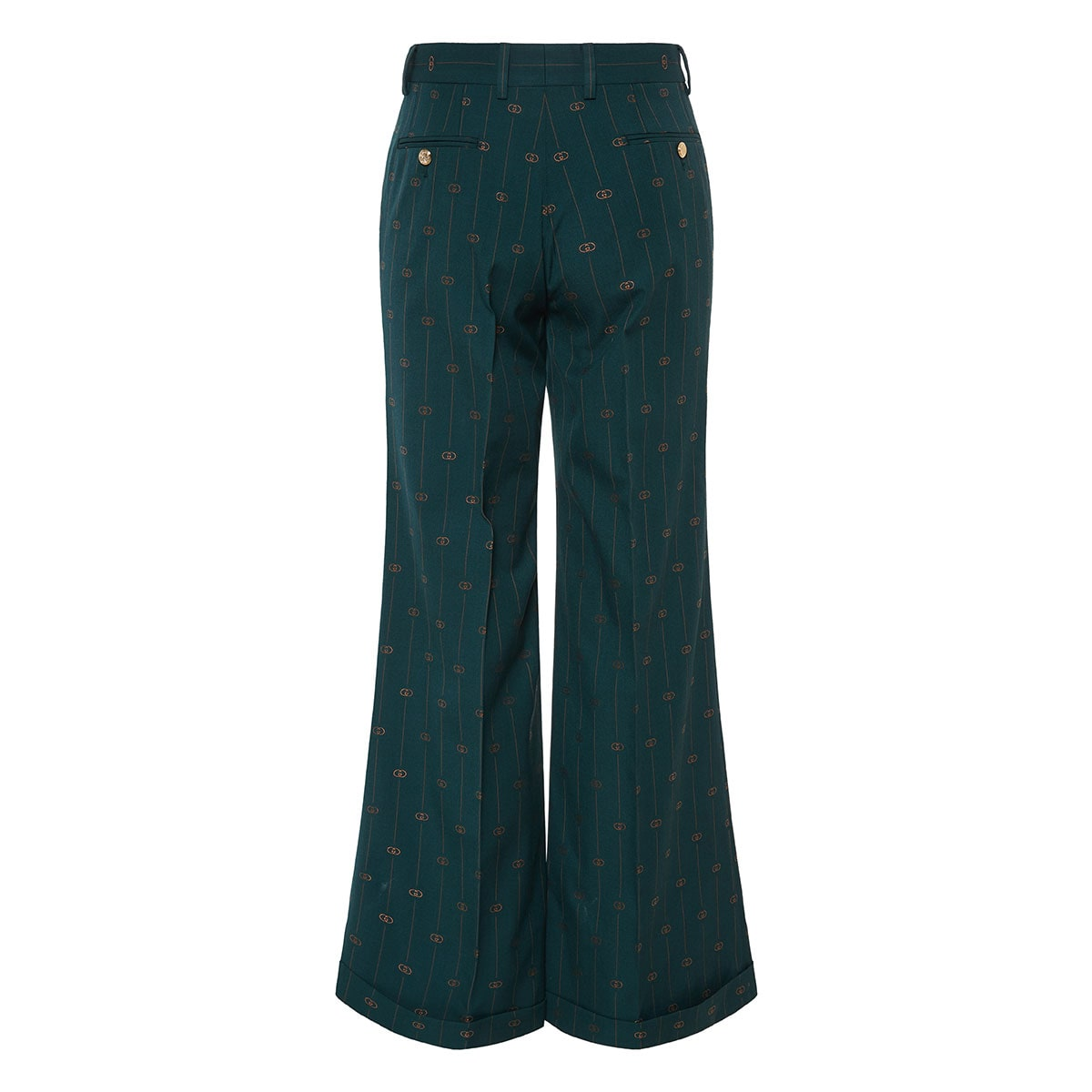 GG flared tailored trousers