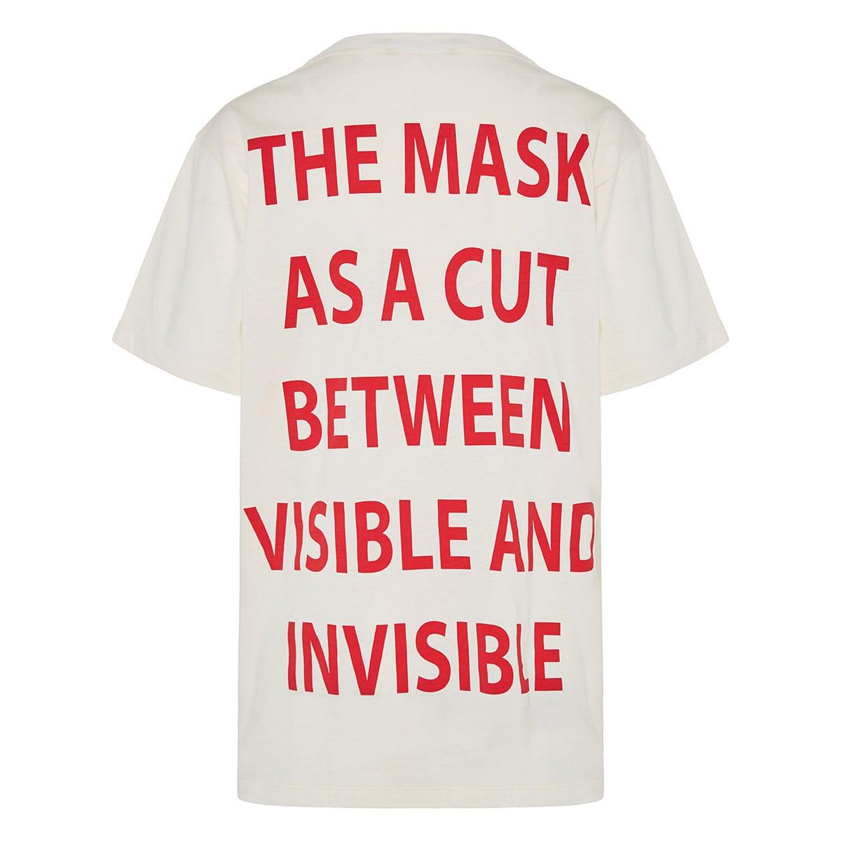 Oversized printed logo t-shirt