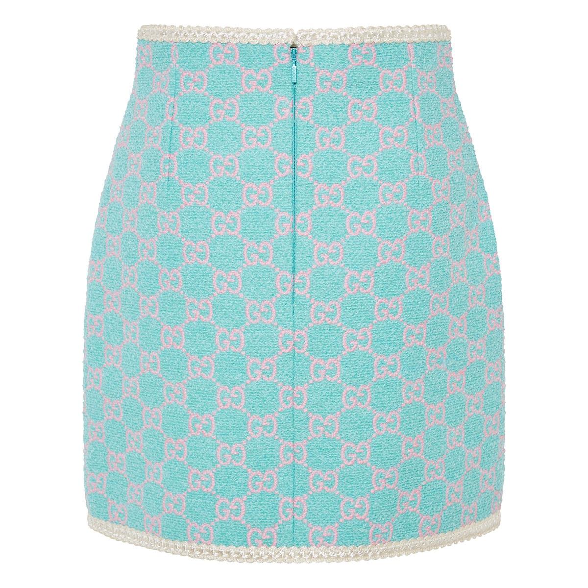 GG tweed mini skirt