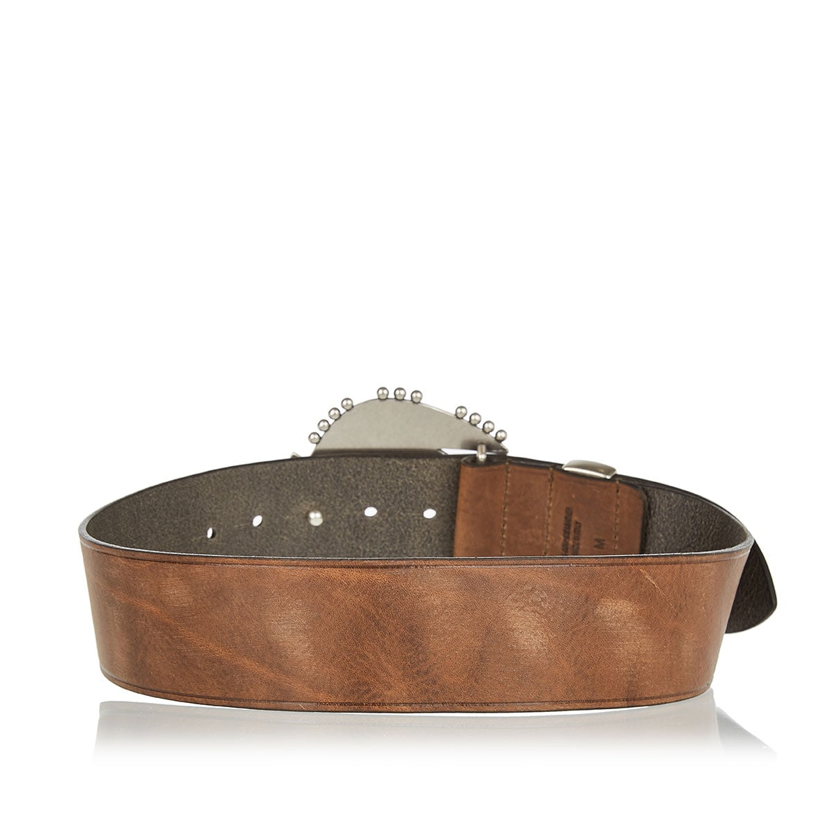 Abigail embellished leather belt