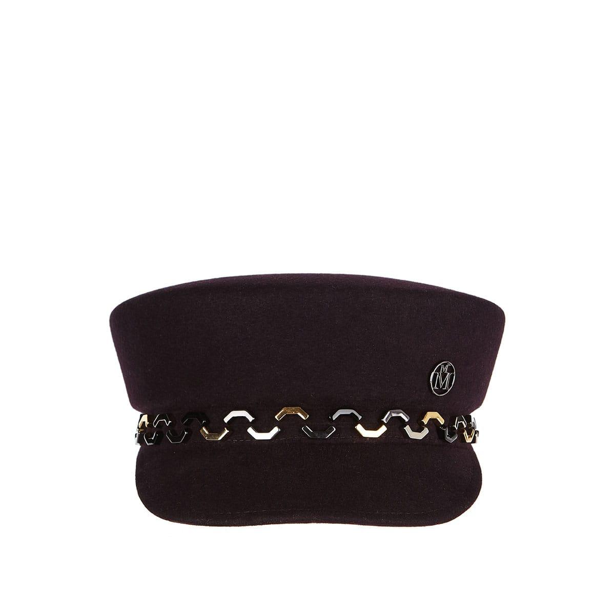 Abby wool sailor cap