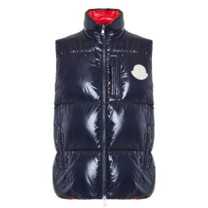 2 Moncler 1952+Valextra Nambour quilted down gilet