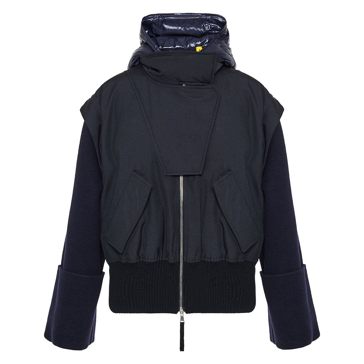 2 MONCLER 1952 + VALEXTRA Elorn oversized jacket