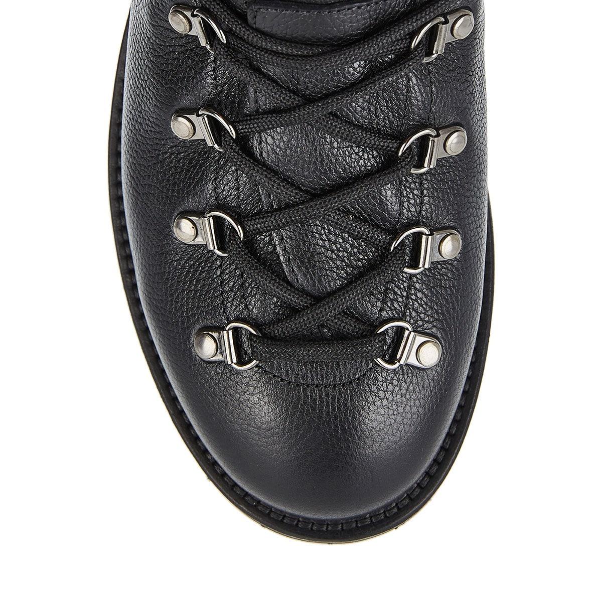 Peak leather hiking boots