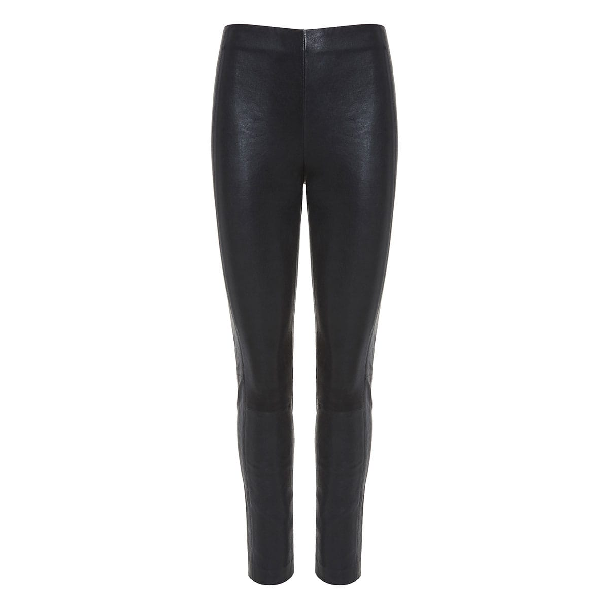 Simone skinny leather trousers