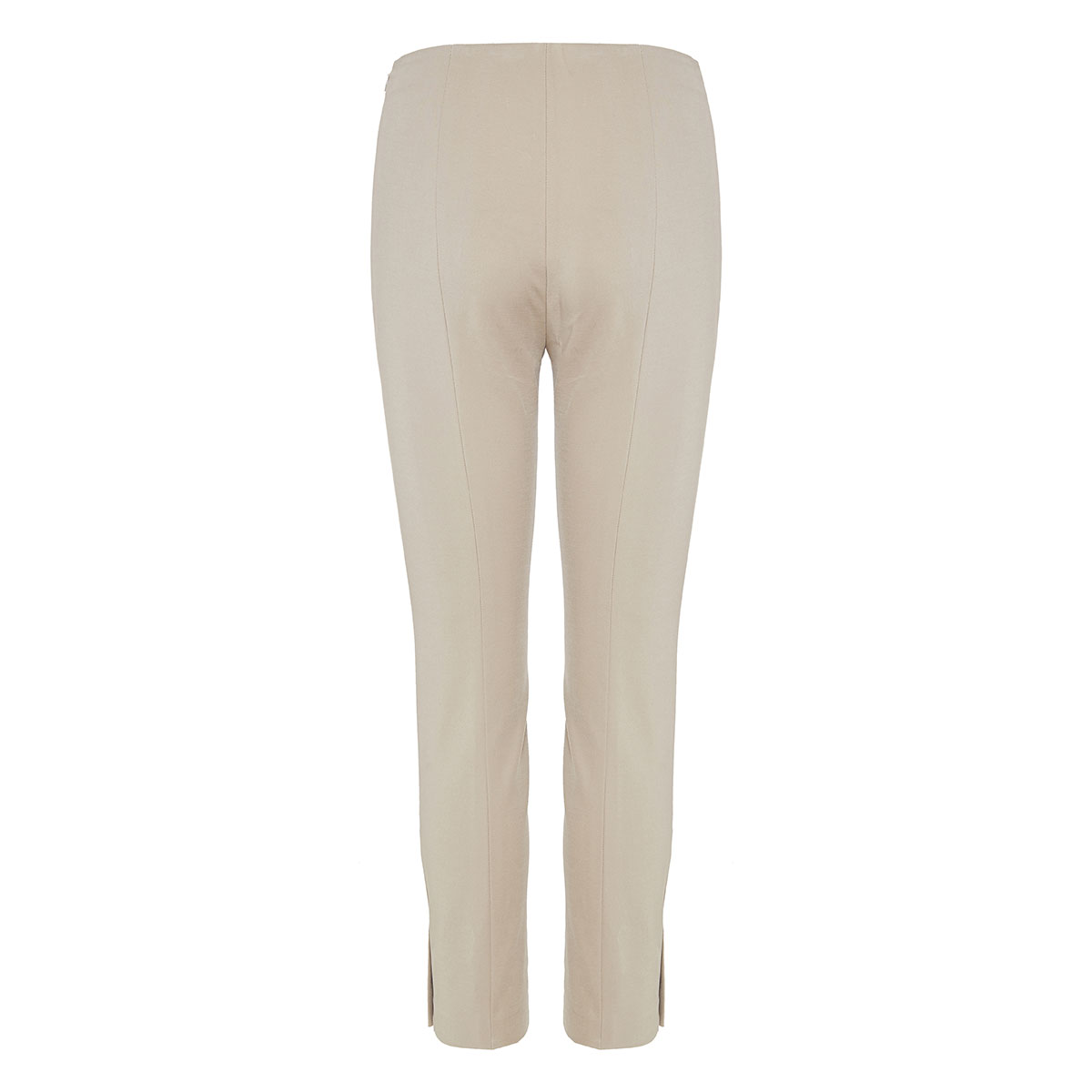 Slim-fit cropped trousers