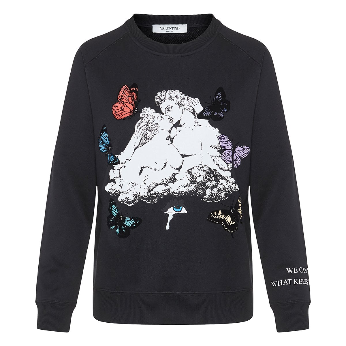 x Undercover printed cotton sweatshirt