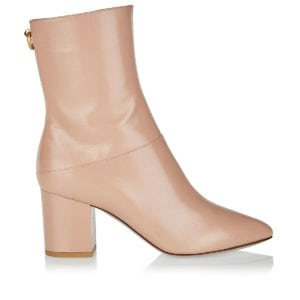Block-heeled ankle boots