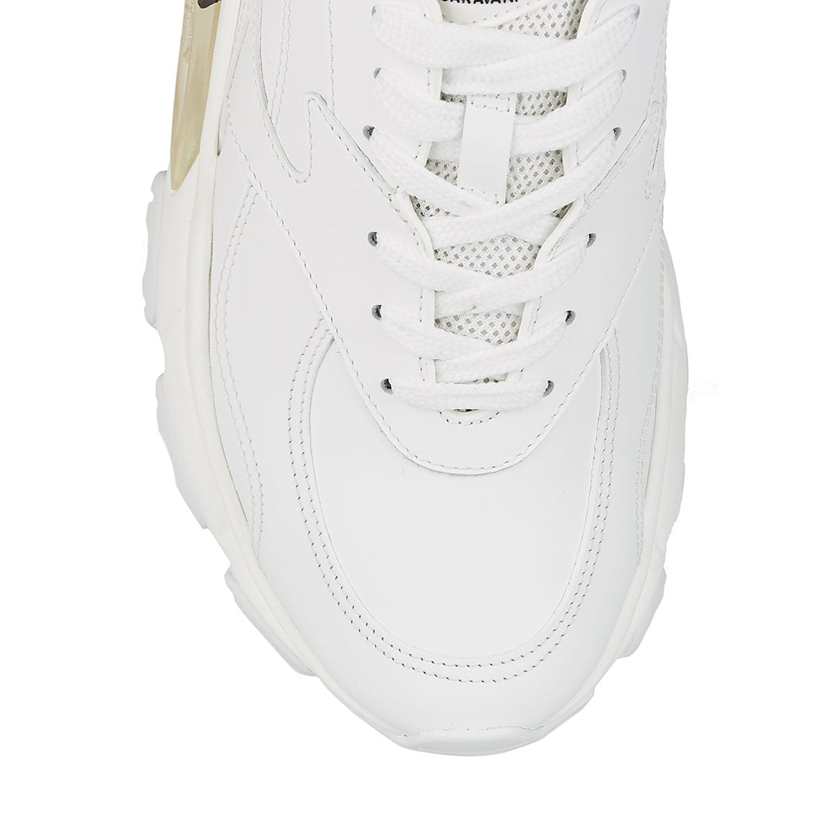 x Undercover printed leather sneakers
