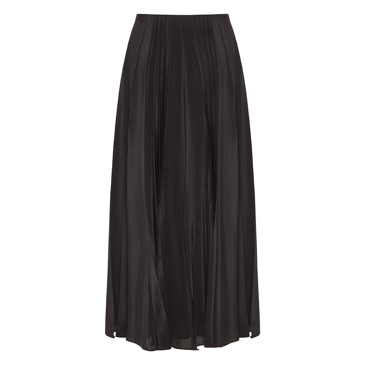 x Undercover lovers-print pleated skirt