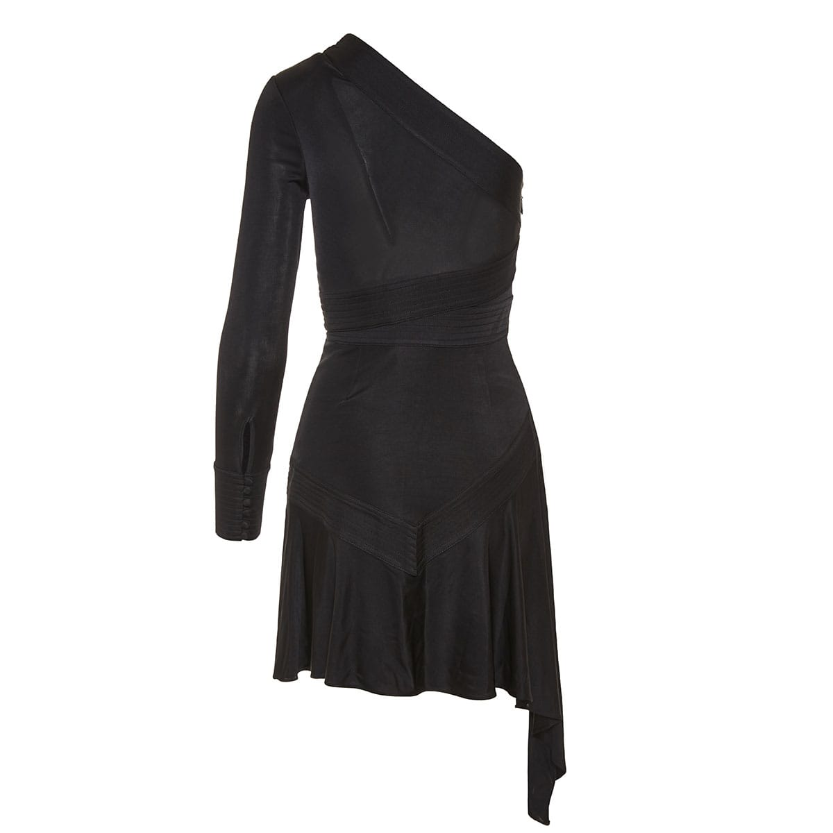 Gaja asymmetric mini dress