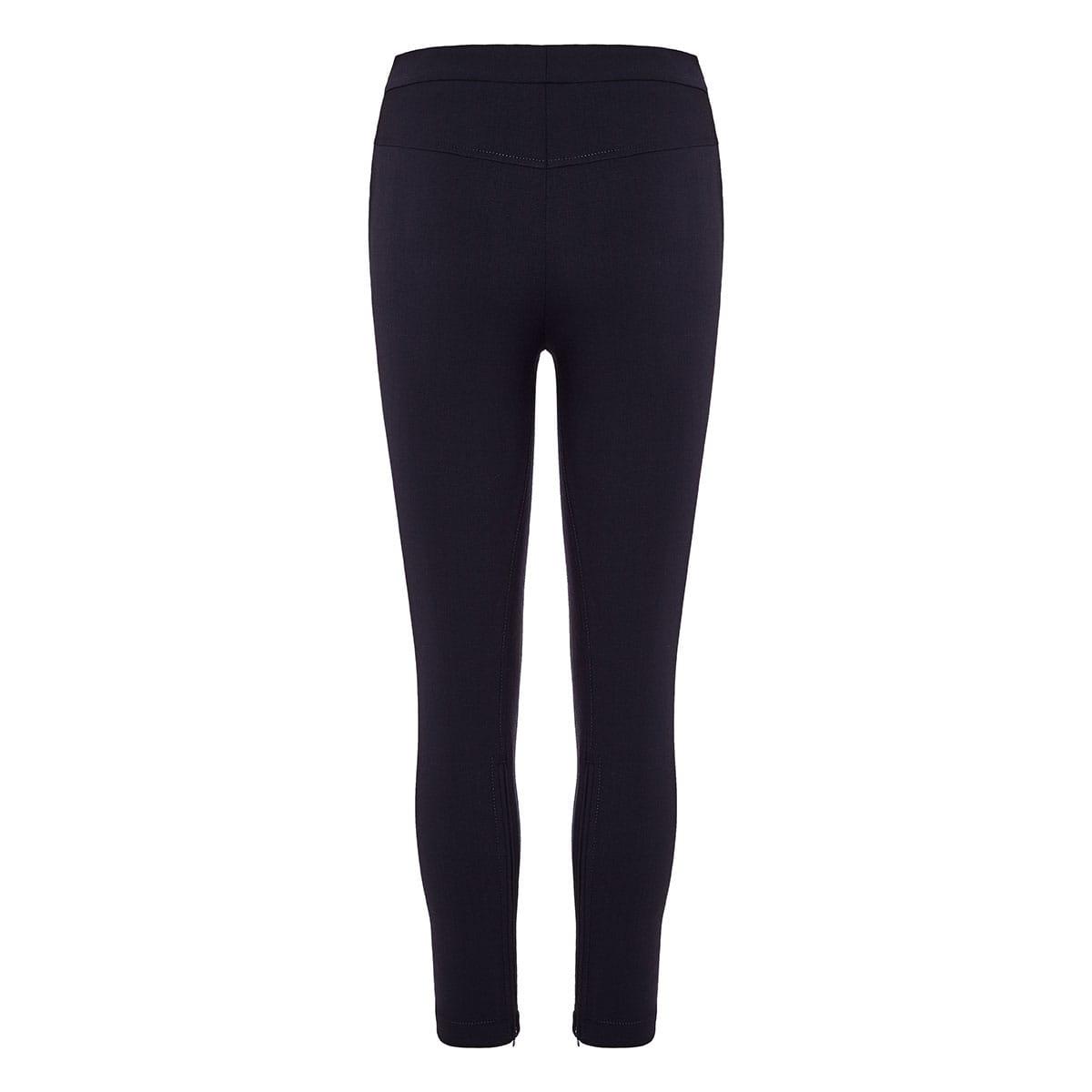 Wool skinny trousers