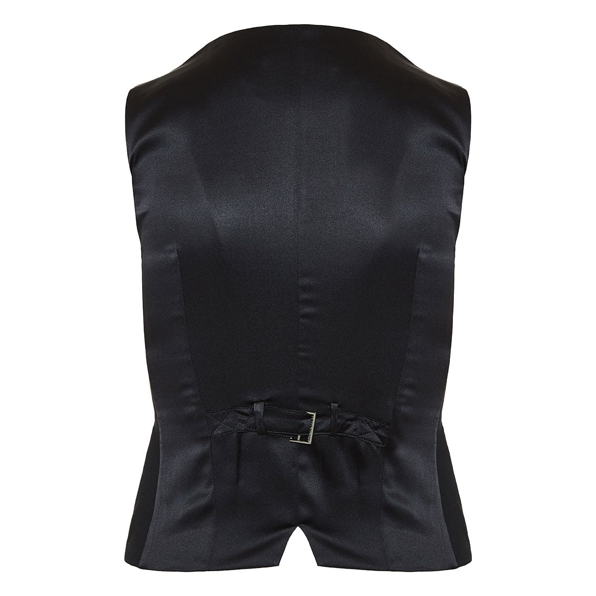 Double-breasted tuxedo vest