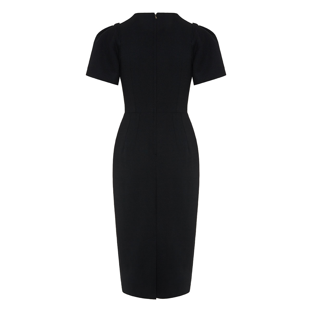 Bow knotted midi dress