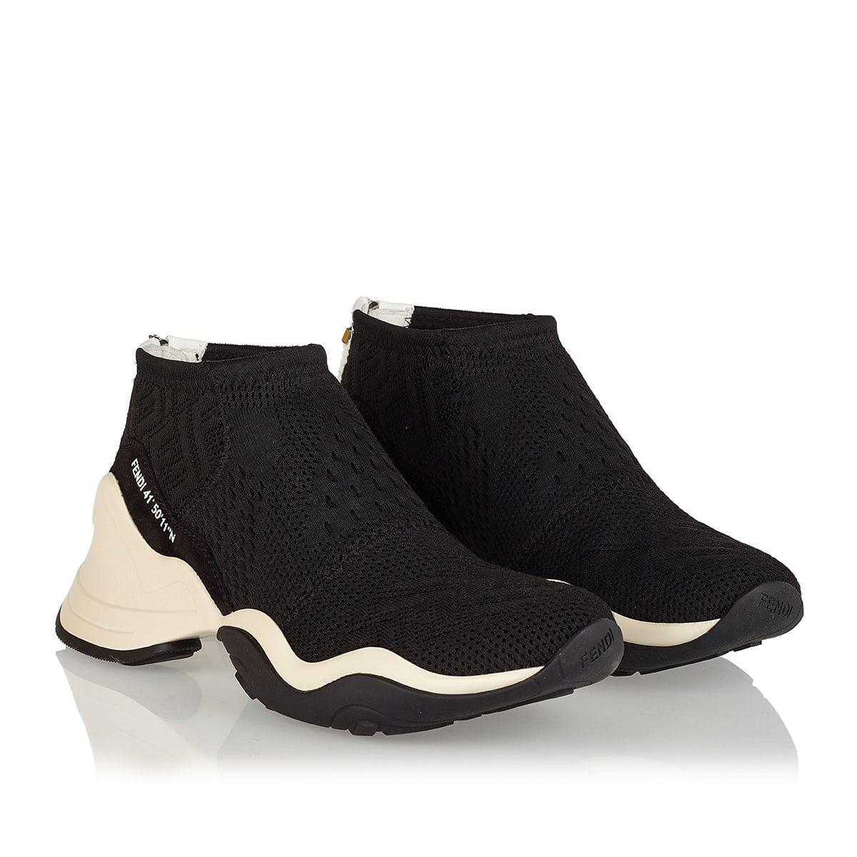 FFluid jacquard sock sneakers