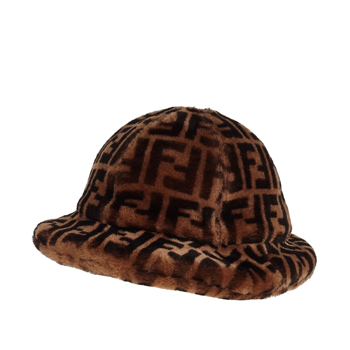 FF fur bucket hat