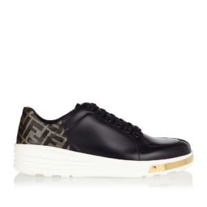 FF leather sneakers