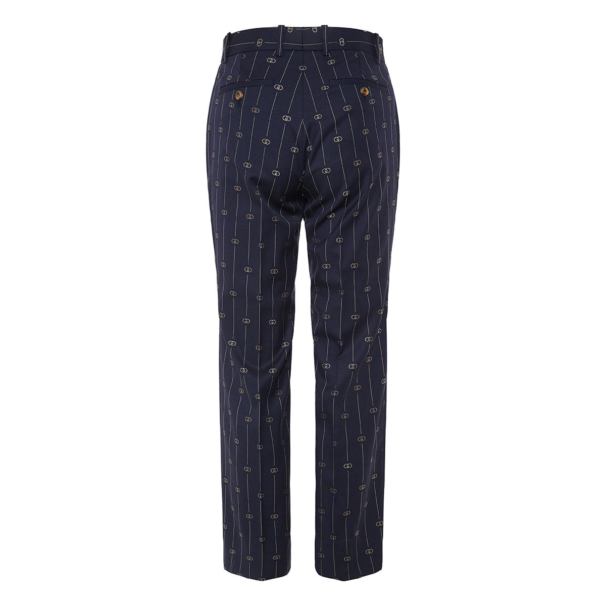 GG wool tailored trousers