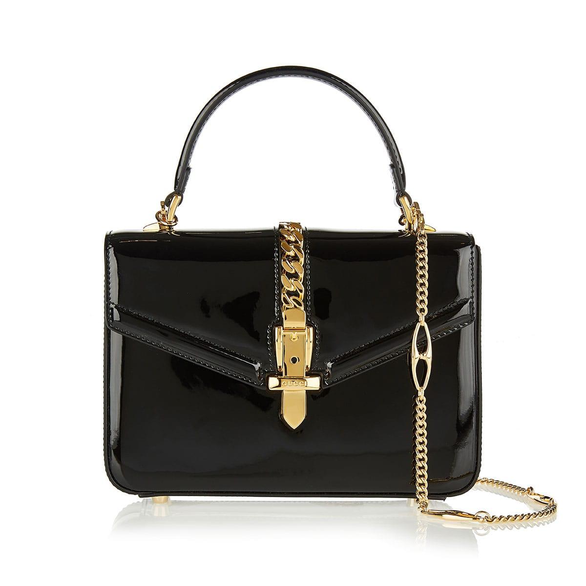 Sylvie 1969 patent leather mini bag