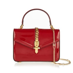 Sylvie 1969 patent leather mini bag
