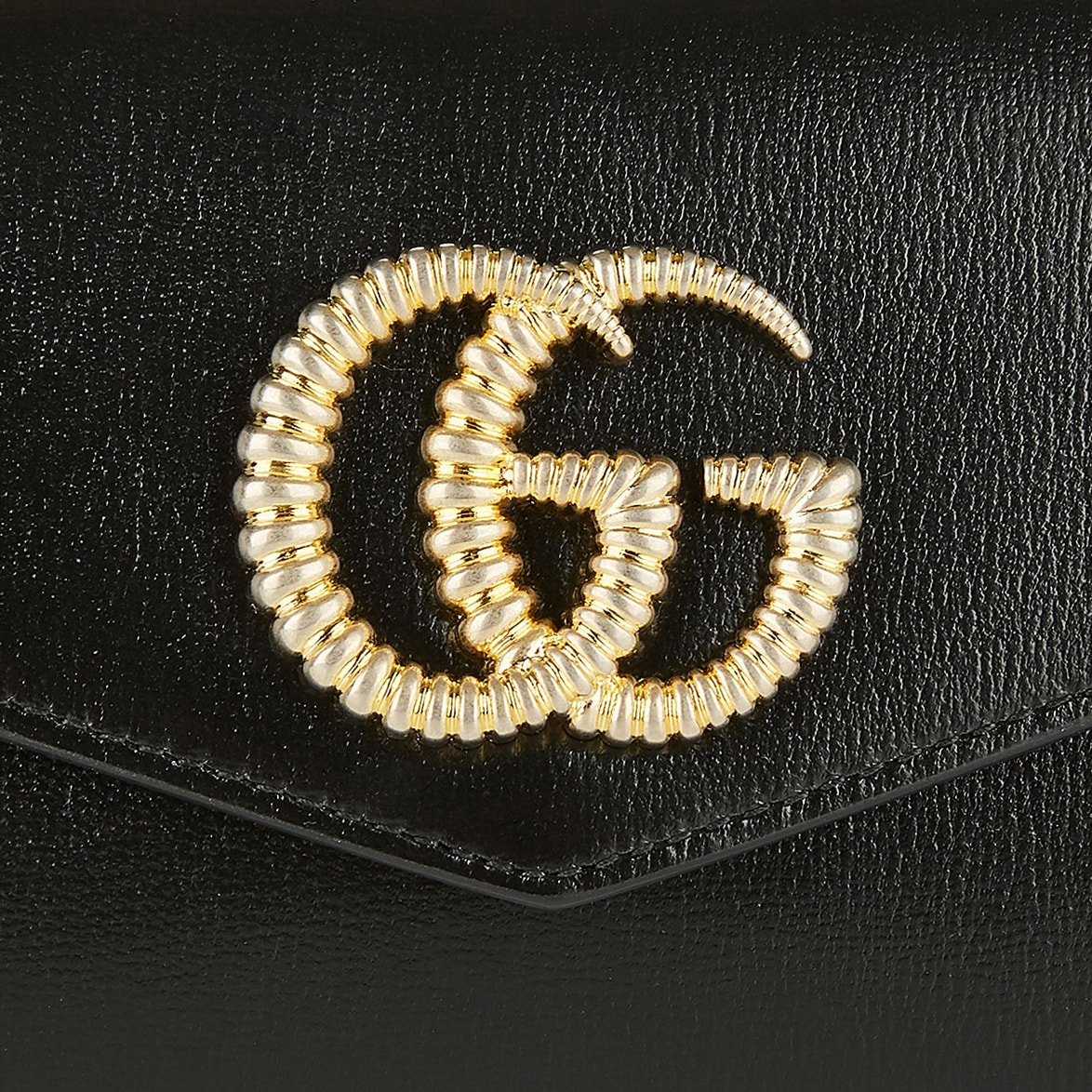 Broadway GG leather clutch