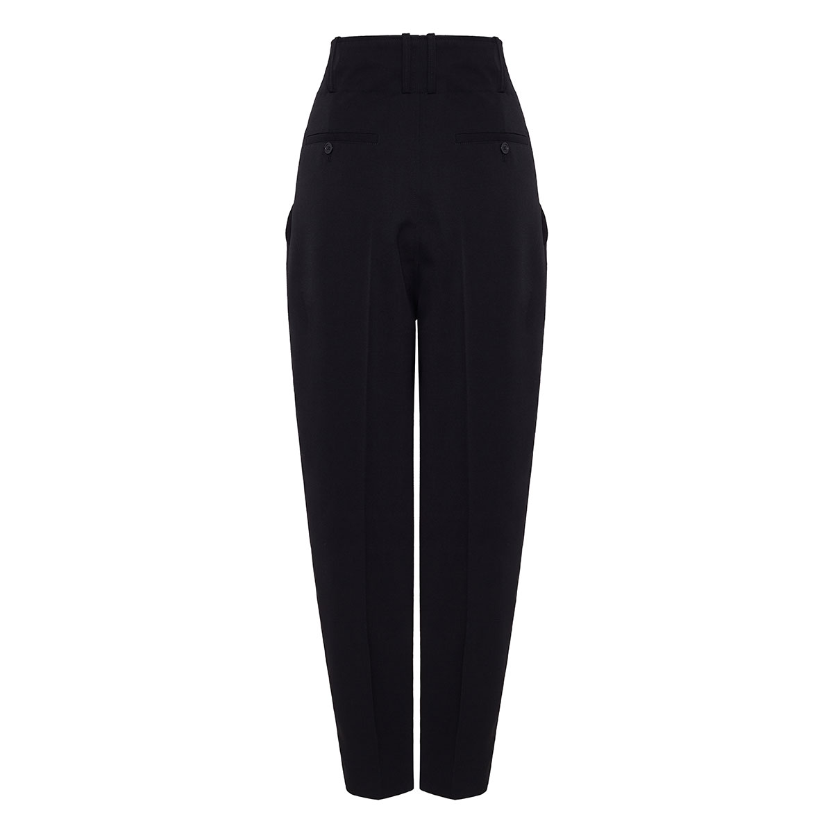 Durneri high-waist tapered trousers